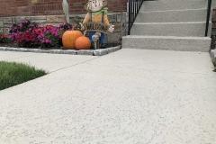 spray textured finish walkway kansas city