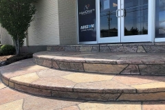colored concrete patio installer kansas city