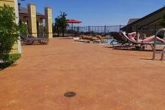 pool deck colored concrete kansas city