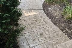 stamped concrete walkway kansas city