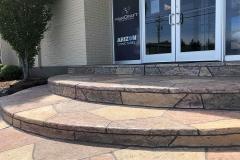 colored concrete patio installer kansas city