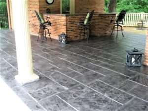 concrete patio stamp kansas city