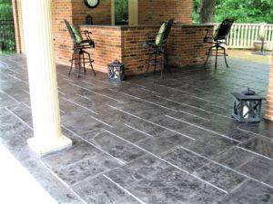 concrete patio stamp kansas city