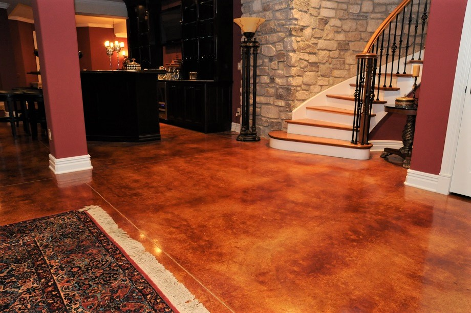 stained concrete kansas city