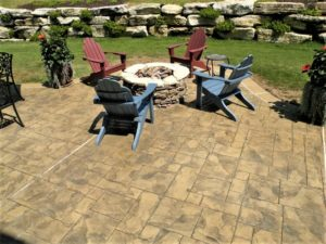 stamped concrete patio kansas city