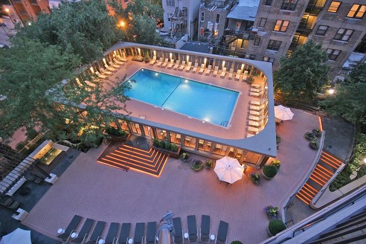 kansas city penthouse pool deck