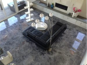 epoxy interior floors