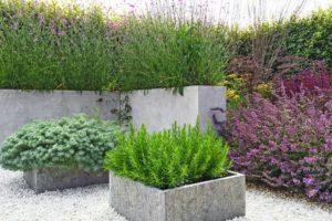 decorative concrete planter kansas