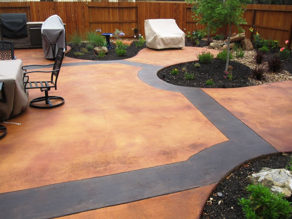 decorative concrete staining kansas